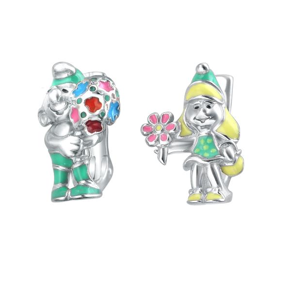 Серьги детские (арт. 01С056547Э-1)