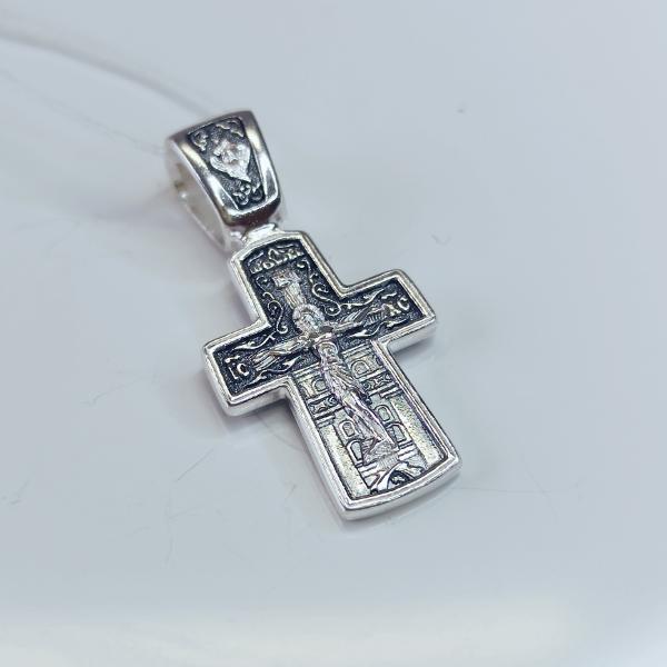 Православный крест Николаем Чудотворцем А-004