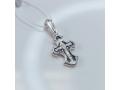 Серебряный крестик с иконой Покров Богородицы А-006